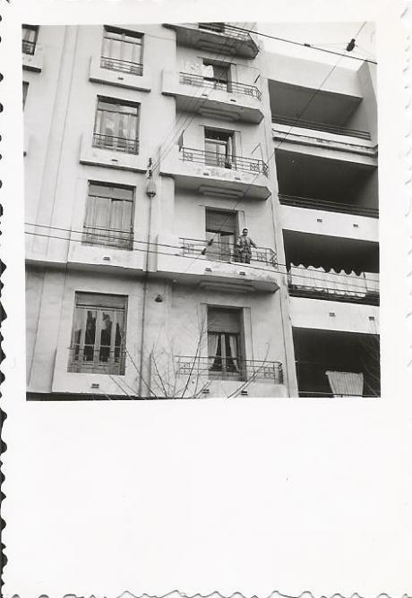 El biar jac au balcon 1955