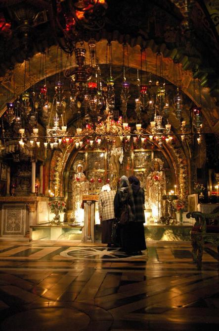 Golgotha church of the holy sepulchre