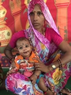 Inde mere enfant