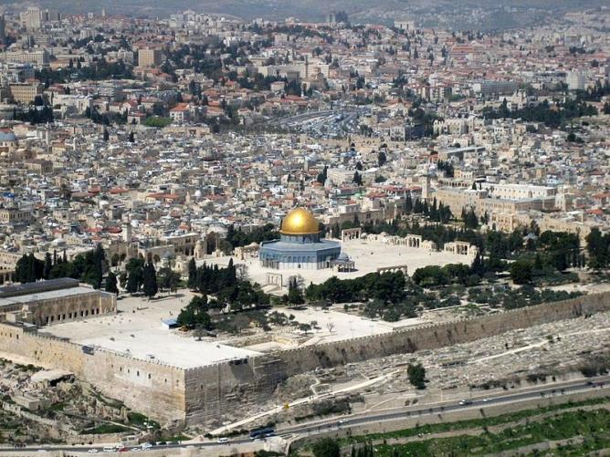 Jerusalem l mont du temple