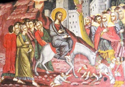 Jesus entre a jerusalem