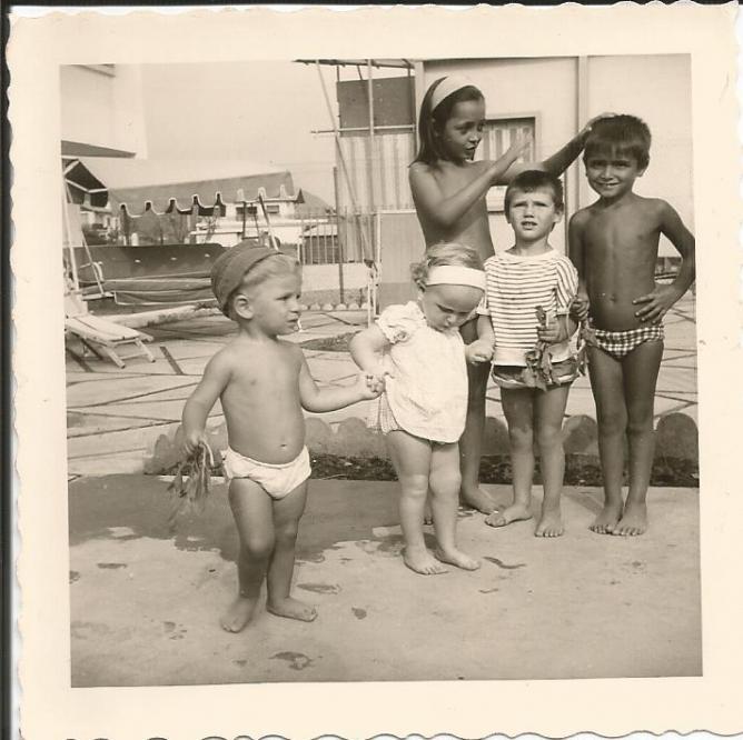 Tichy 1958 les enfants dernier ete